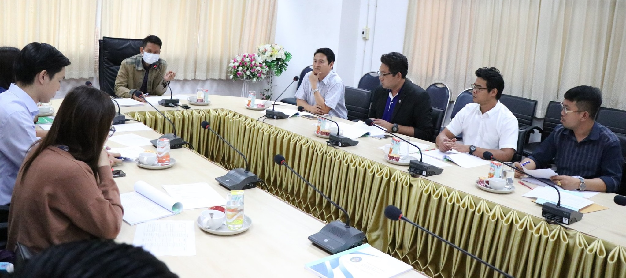 ประชุมคณะกรรมการบริหาร วิทยาลัยการจัดการและพัฒนาท้องถิ่น ครั้งที่ 12 (1/2563)